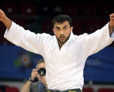 柔道グランドスラム2012:ギリシャのイリアディス金メダル