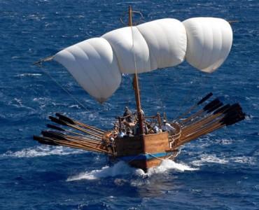 古代のアルゴー船、再びギリシャの大海原へ!