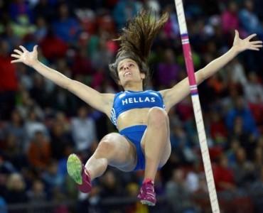 陸上欧州選手権:ギリシャのステファニディ、女子棒高跳びで銀