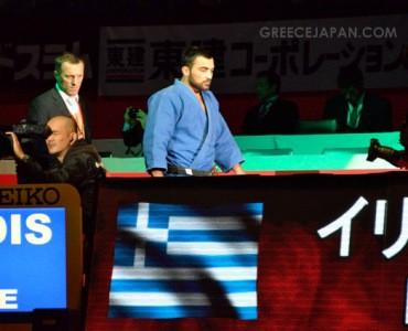 柔道グランドスラム東京2014:ギリシャのイリアディス、参戦