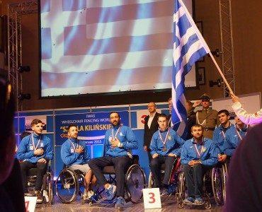 車いすフェンシング・ワールドカップ・ワルシャワ:ギリシャ男子が金