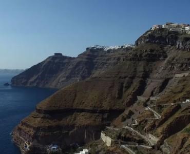 サントリーニ:世界で一番美しい島(video)