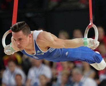 体操:ギリシャのペトルニアス、2016カタール国際・男子つり輪で金