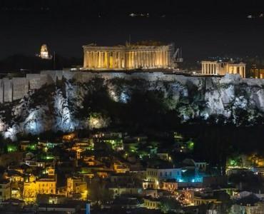 アクロポリス・アースアワー2016:タイムラプスで描くアテネの一夜(video)