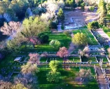 ギリシャ・古代オリンピア:天空からの眺め(video)