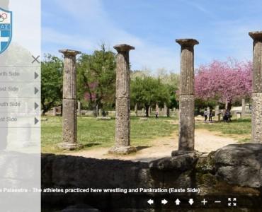 ギリシャオリンピック協会、オリンピアの古代遺跡のバーチャルツアーを公開