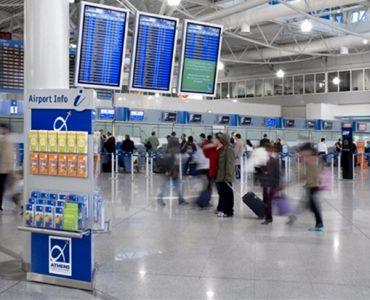 ギリシャ主要空港の国際線乗降客、今年3月期に11%の上昇
