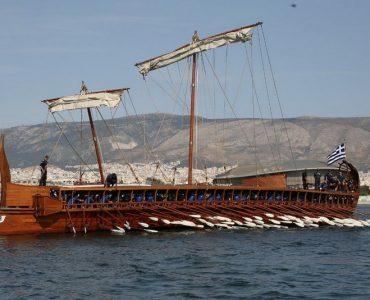 三段櫂船のオリンピアス号、ギリシャで試験航海を実施