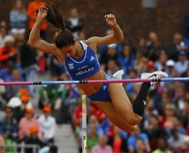陸上欧州選手権2016:ギリシャのステファニディ、女子棒高跳びで待望の金