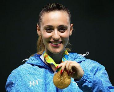 リオ五輪:ギリシャのコラカキ、女子25mピストルで金、ギリシャに2個目のメダル