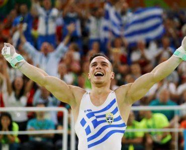リオ五輪:ギリシャのペトルニアス、男子つり輪で金、ギリシャに3つ目のメダル