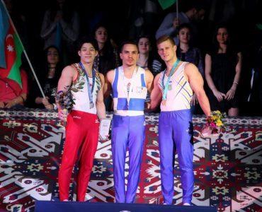 体操・2017アゼルバイジャン国際でギリシャ・日本メダル獲得