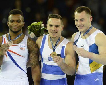 ギリシャのペトルニアス、体操の欧州選手権・つり輪で3連覇