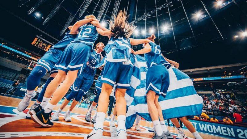 ユーロバスケット女子2017:ギリシャ代表が初の準決勝進出