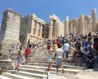ギリシャ:猛暑の影響で古代遺跡の開場時間に変更