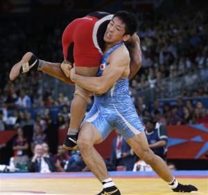 O χρυσός ολυμπιονίκης στο Λονδίνο Tatsuhiro Yonemitsu