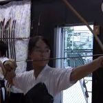 Στη Λέσχη Ιαπωνικής Τοξοβολίας ενός Γυμνασίου στο Τόκιο