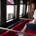 Ιαπωνία: Σίνκανσεν με ποδόλουτρο