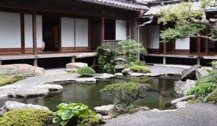 Ιαπωνικός Κήπος στην Καγκοσίμα