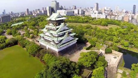 Το Κάστρο της Οσάκα από ψηλά! (video)