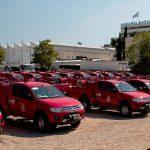 80 νέα Mitsubishi L200 4X4 στην υπηρεσία του Πυροσβεστικού Σώματος