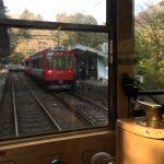 Στο σιδηρόδρομο του Χακόνε (video)