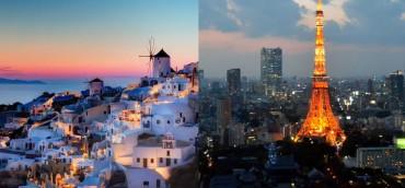 H Σαντορίνη και το Τόκιο στα 25 ταξίδια που πρέπει να κάνετε στη ζωή σας!