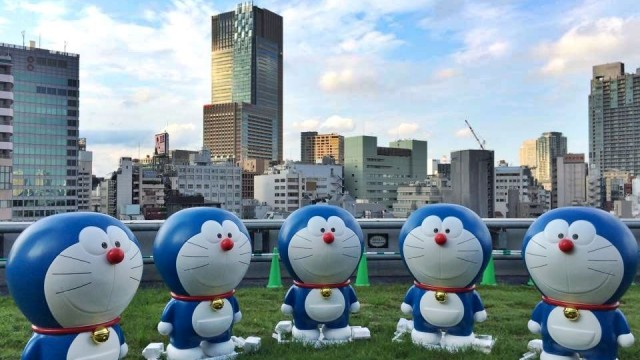 Doraemon στο TV Asahi Roppongi Hills Summer Station