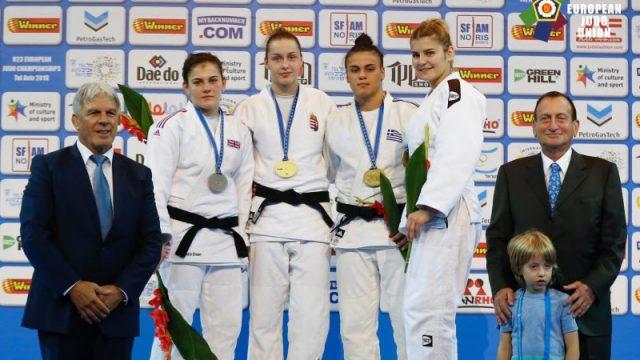 Τζούντο: Χάλκινο μετάλλιο η Ελισάβετ Τελτσίδου στο Ευρωπαϊκό Πρωτάθλημα U23
