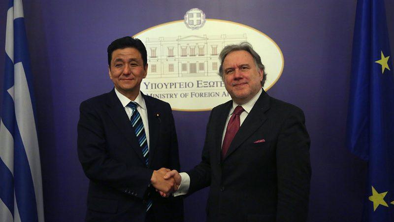 Γ. Κατρούγκαλος-Ν. Κίσι: Στενότερη συνεργασία Ελλάδας-Ιαπωνίας
