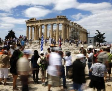 アテネへの観光客、10%の増加