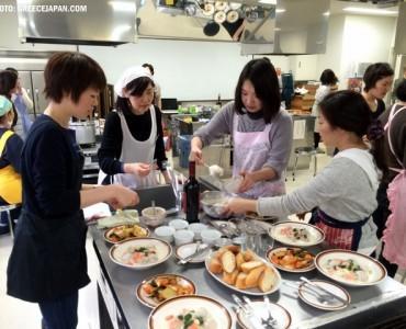 ギリシャ料理講習会、築地で開催