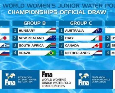 男女水球U20:ギリシャと日本、今夏再び激突!