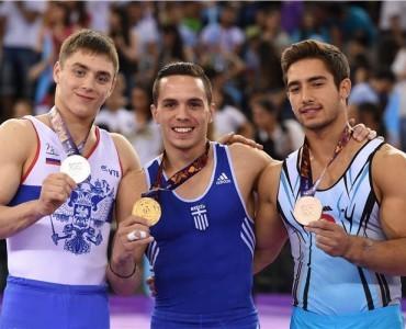 ギリシャ、第1回欧州選手権で金1・銀2・銅1を獲得