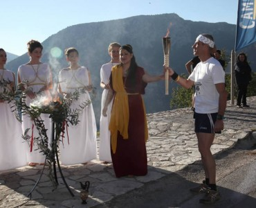 聖なる山を駆け抜けろ!-ギリシャ・デルフィのマウンテンレース