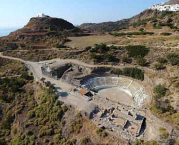復元作業完了のギリシャ・ミロス島の古代劇場、一般公開へ