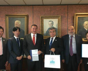 ギリシャオリンピック委員会、東京オリ・パラ組織委員会と面会