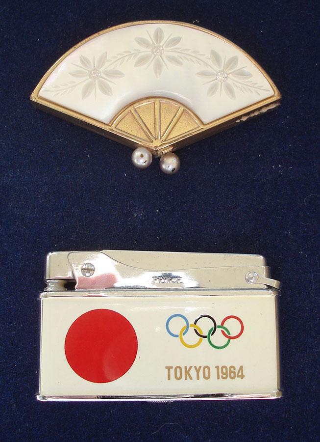 1964年(昭和39年)東京オリンピックの記念品