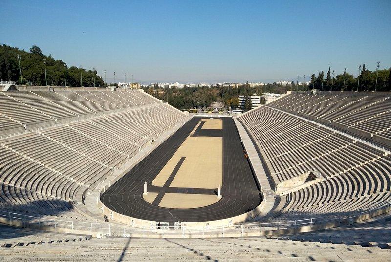 ギリシャ・アテネのパナシナイコ・スタジアム~近代オリンピック始まりの地~