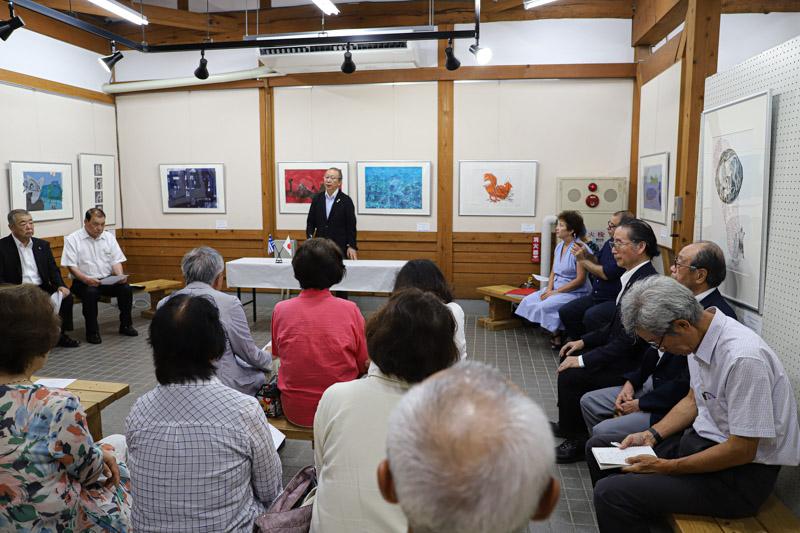 高野勉日本版画会長