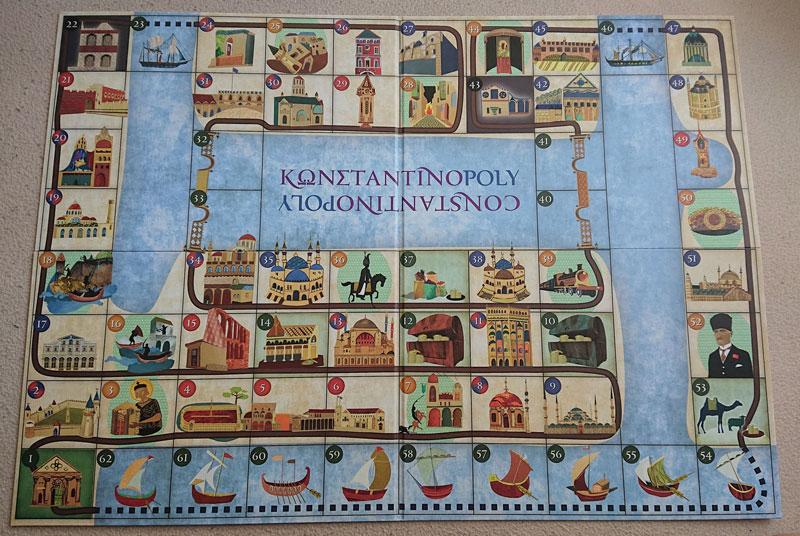 Photo 2:ボードゲーム『コンスタンディノーポリー』パッケージ