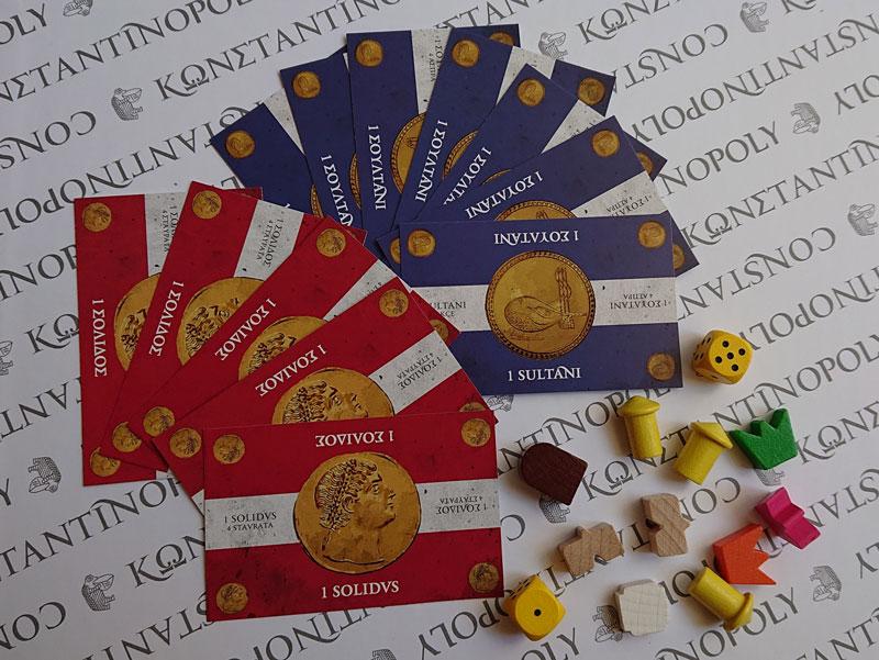 Photo 3:ボードゲーム『コンスタンディノーポリー』セット内容