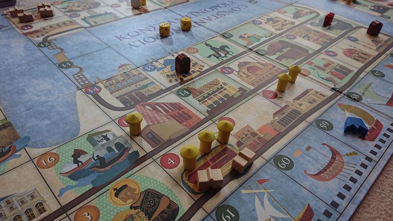 Photo 12:ゲーム中の盤上の様子