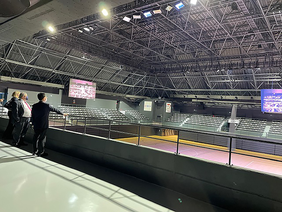 豊田合成記念体育館・ENTRIO © 稲沢市
