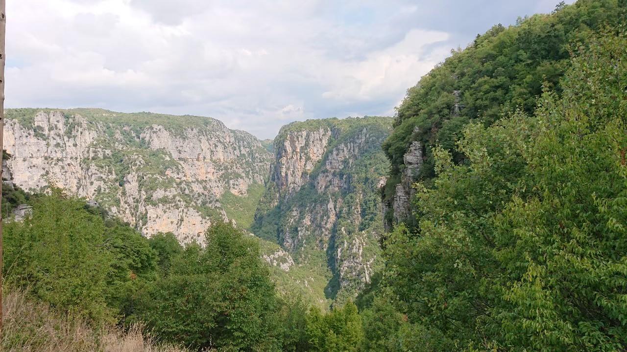 アギア・パラスケヴィ教会から見る風景