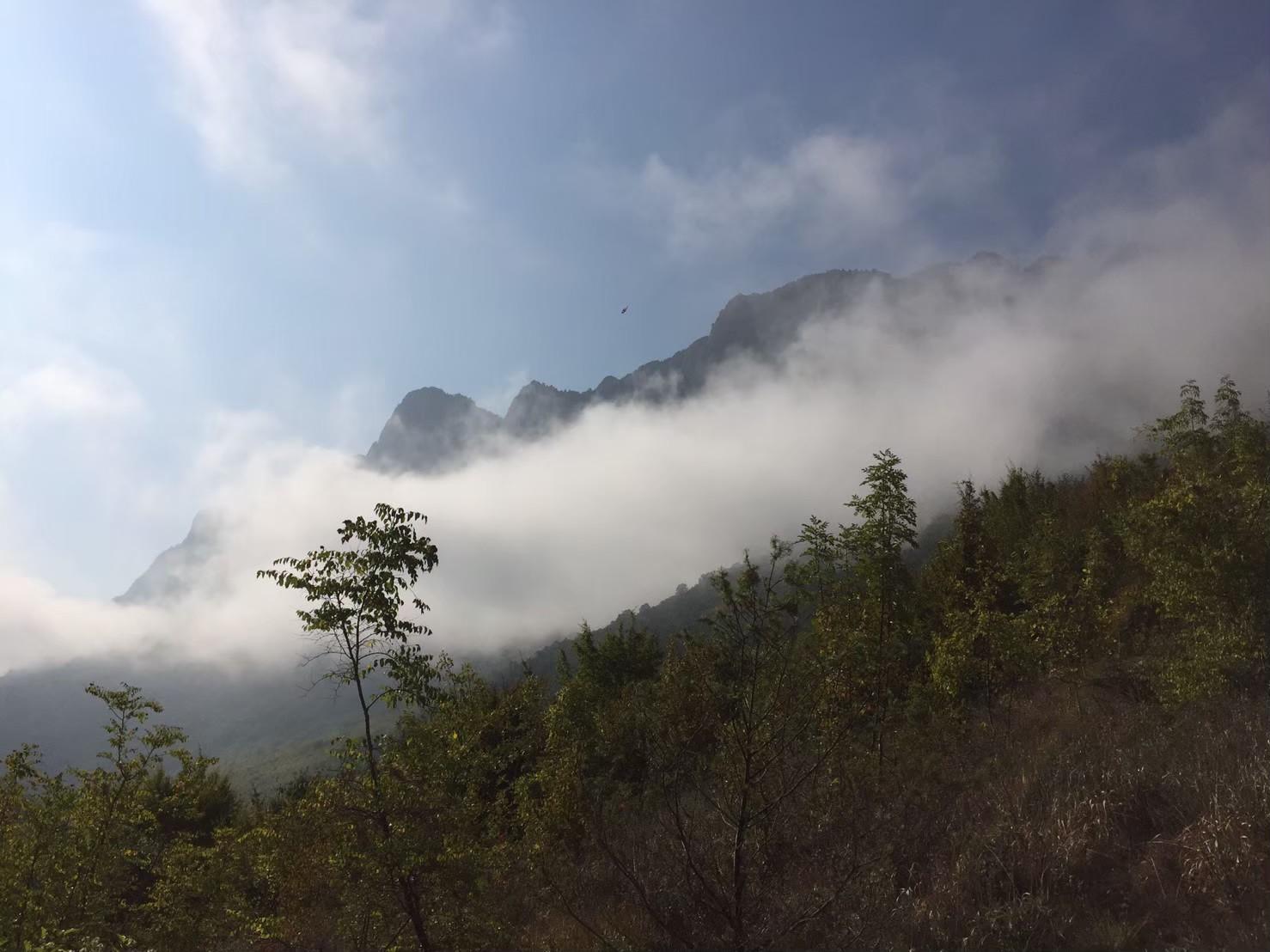 晴れていく霧
