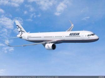 ギリシャのエーゲ航空、22日(金)エアバス社とA-320の大型発注契約を締結