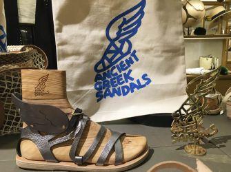 ギリシャから愛を込めて!Ancient Greek Sandalsポップアップストア、GINZA SIXで開催