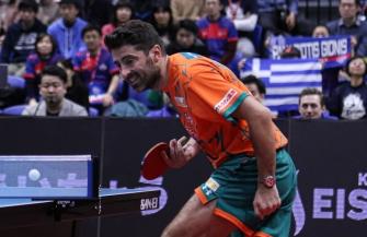 卓球Tリーグ:T.T彩たま・ギリシャのジオニス、リーグ初参戦で全戦全勝