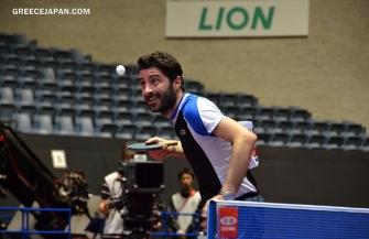 卓球ギリシャ代表のジオニス、卓球Tリーグ・T.T 彩たまに加入